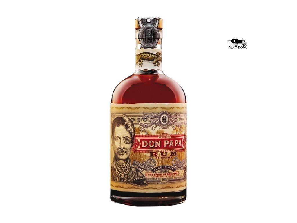 DON PAPA RUM. Rozvoz alkoholu Praha