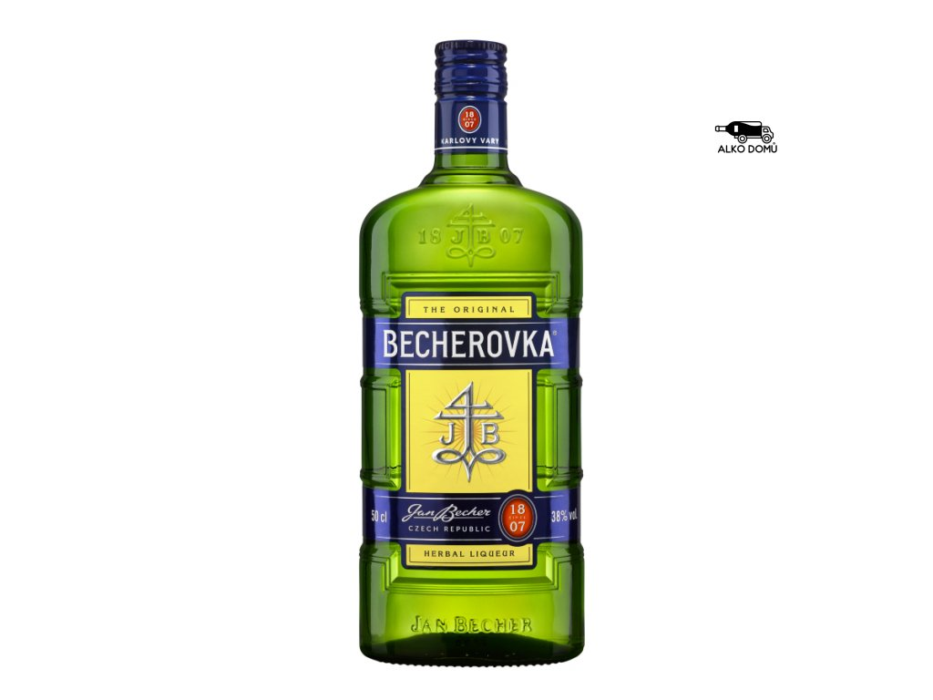 BECHEROVKA ORIGINAL Rozvoz alkoholu Praha