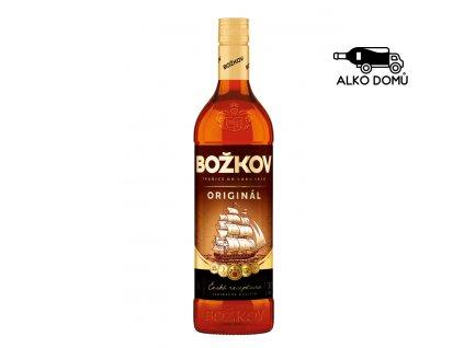 BOŽKOV ORIGINÁL TUZEMSKÝ RUM Rozvoz alkoholu Praha