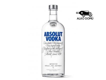 ABSOLUT VODKA Rozvoz alkoholu Praha