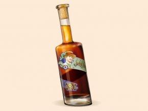Švihák lázeňský 0,5 l netradiční šikmá lahev 20 % alc.