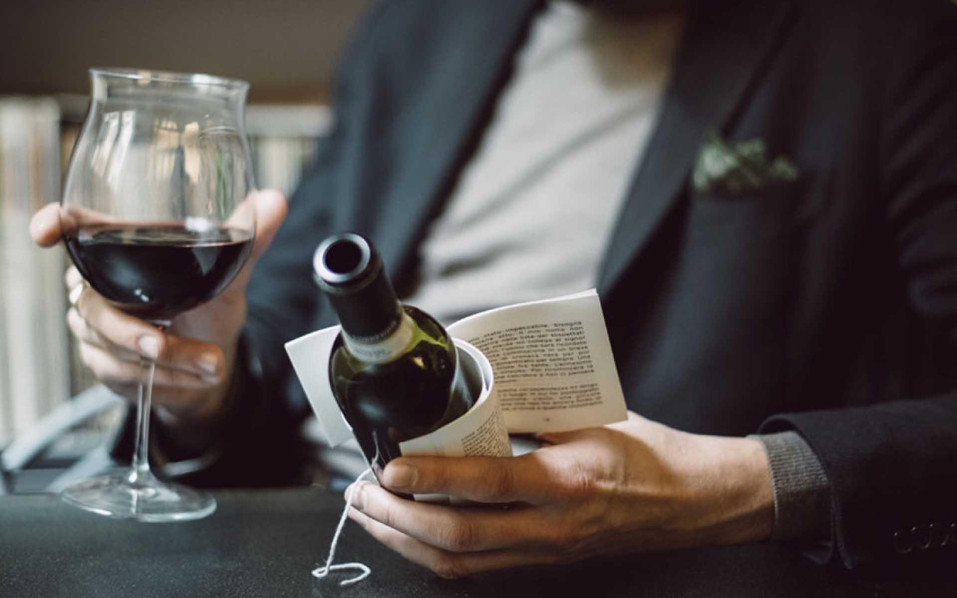 Vin(n)á beletrie aneb víno a kniha navečer