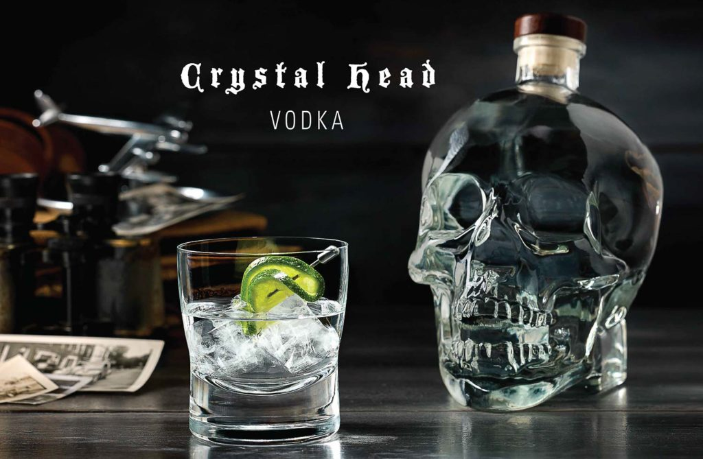Crastal Head Vodka