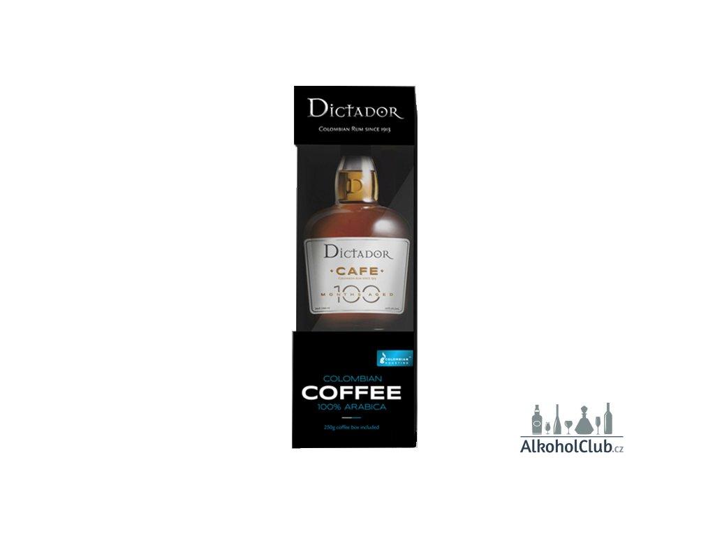 Dictador rum cafe + dárek