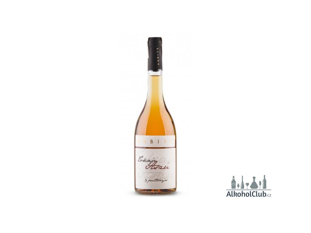 tokaji aszu 3 puttonyos babits výtečné tokajské víno