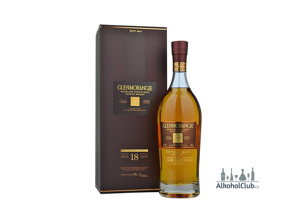 glenmorangie 18yo extremely rare single malt whisky