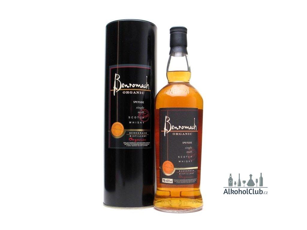 Benromach Organic 43% bio whisky