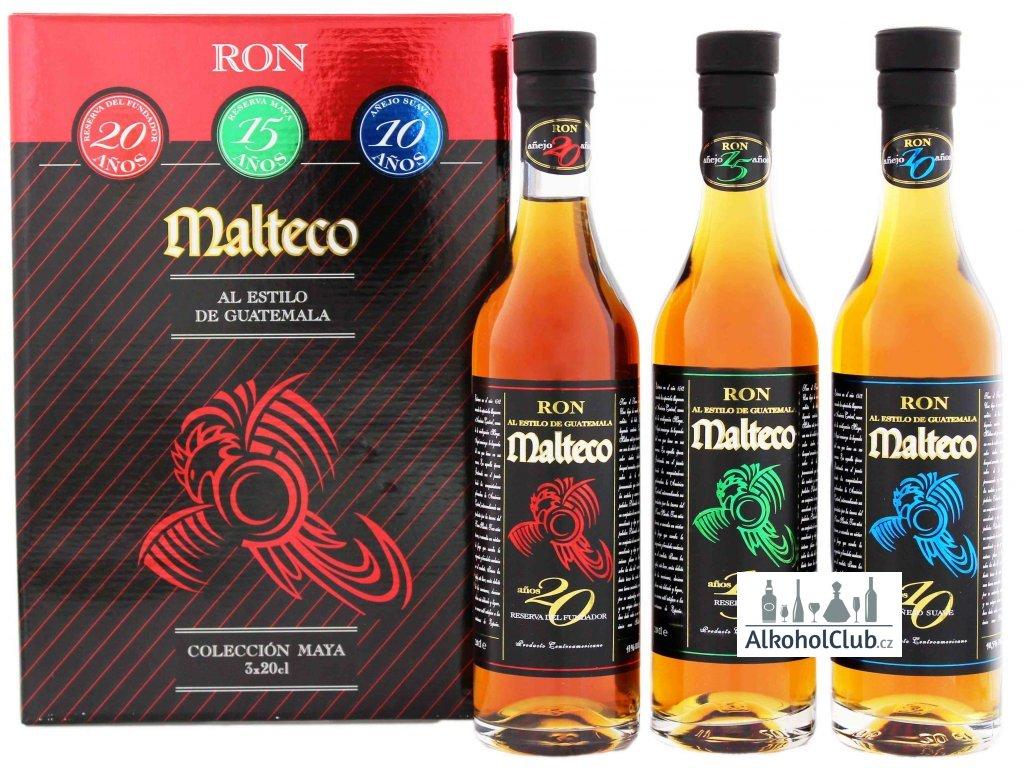 Malteco degustační rumový set