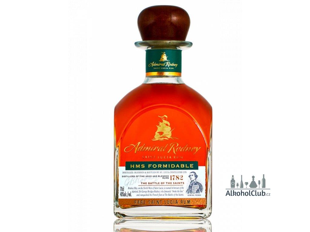 admiral rodney hms formidable rum bottle1