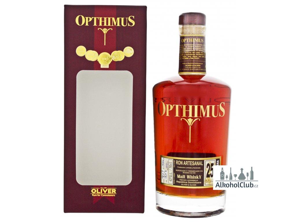 opthimus whisky 25