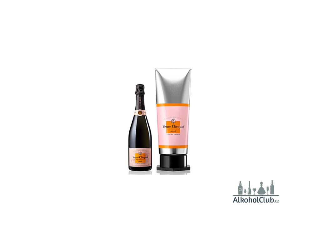 veuve champagne rosé tube