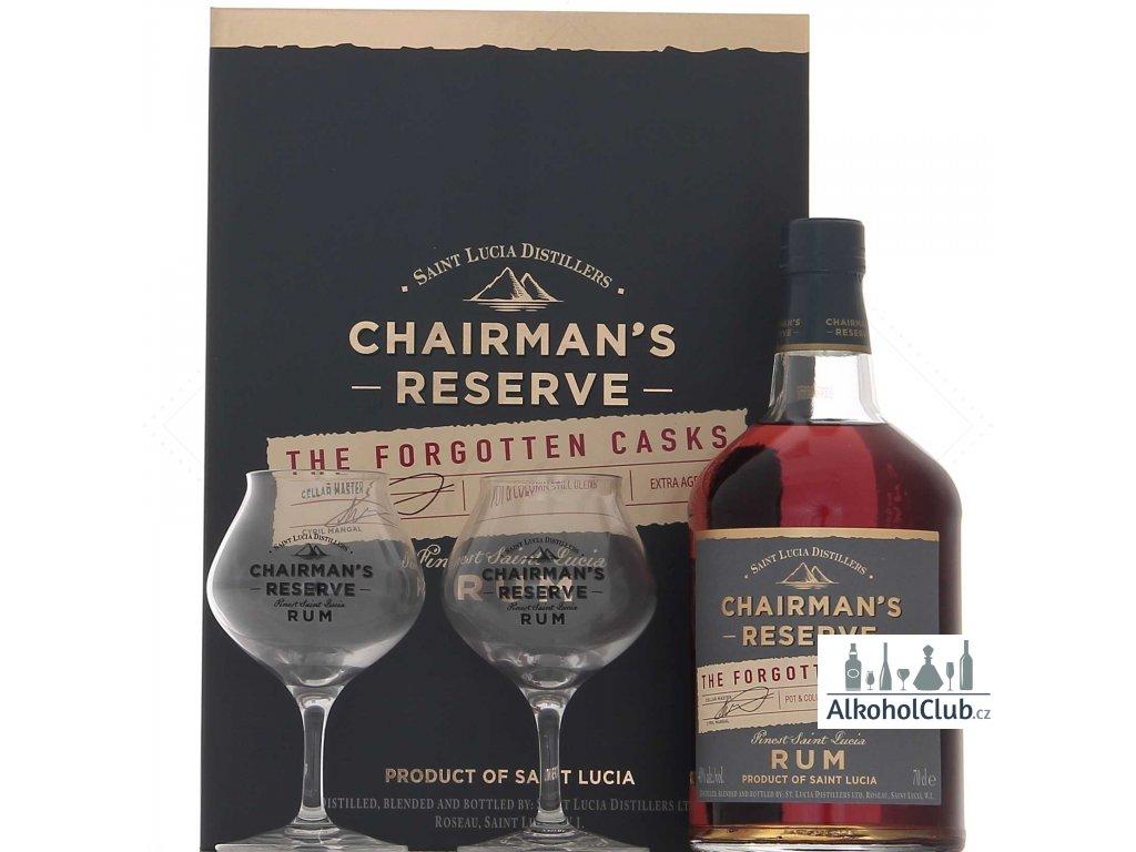 chairmans reserve forgotten cask + sklo