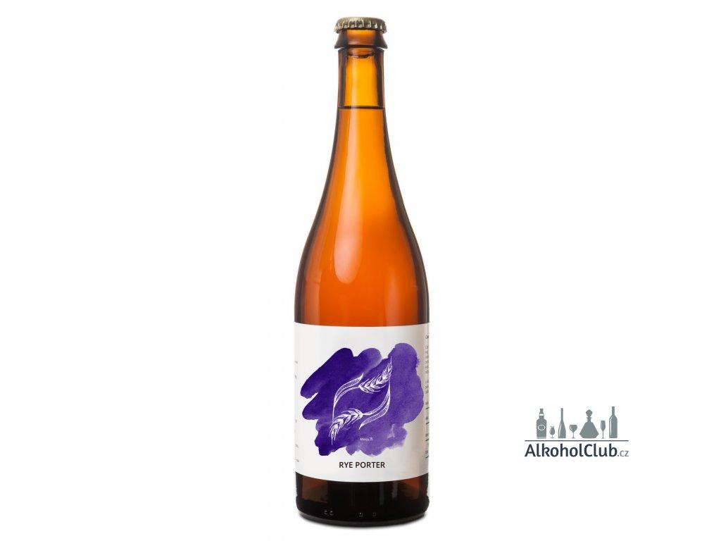 Pivo pivečka rye porter