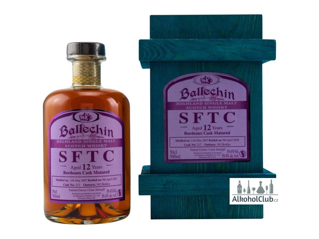 ballechin 2007 2020 12 yo bordeaux cask nr 217 whisky