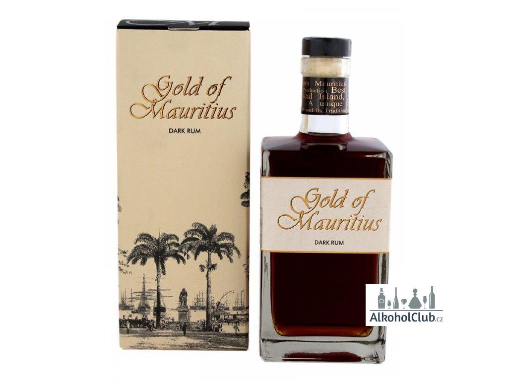 gold of mauritius dark rum 700ml gift box