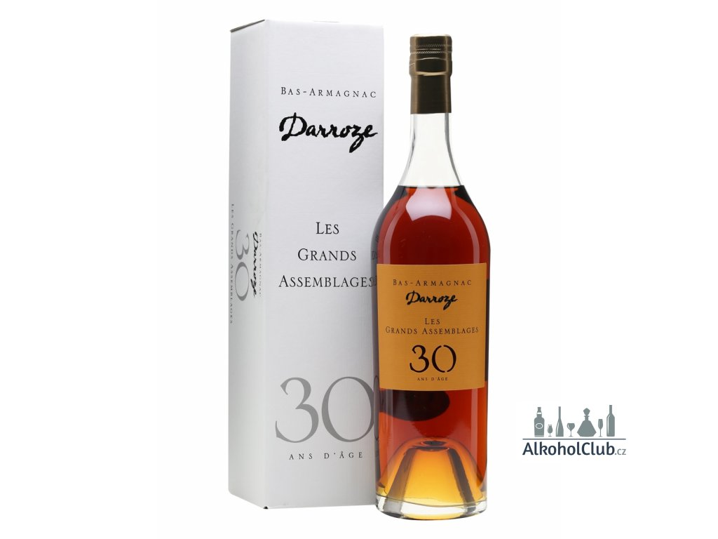 Armaňak 30 let starý Armagnac Darroze 30Y 43%