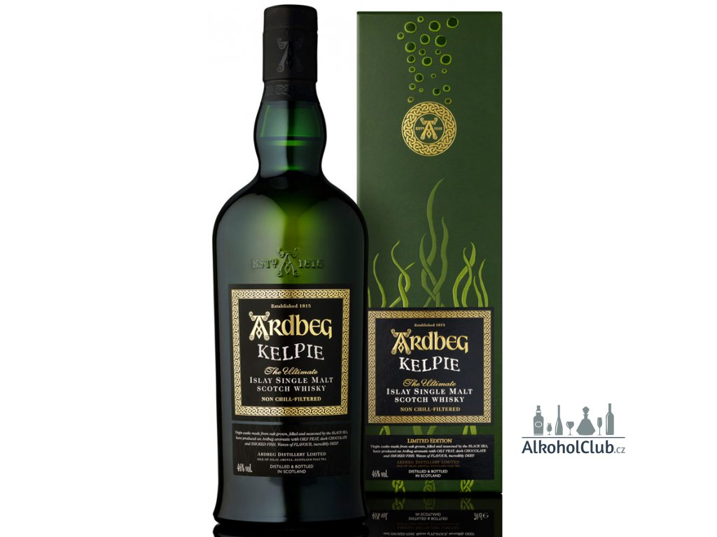 ardbeg kelpie single malt scotch limitovaná edice
