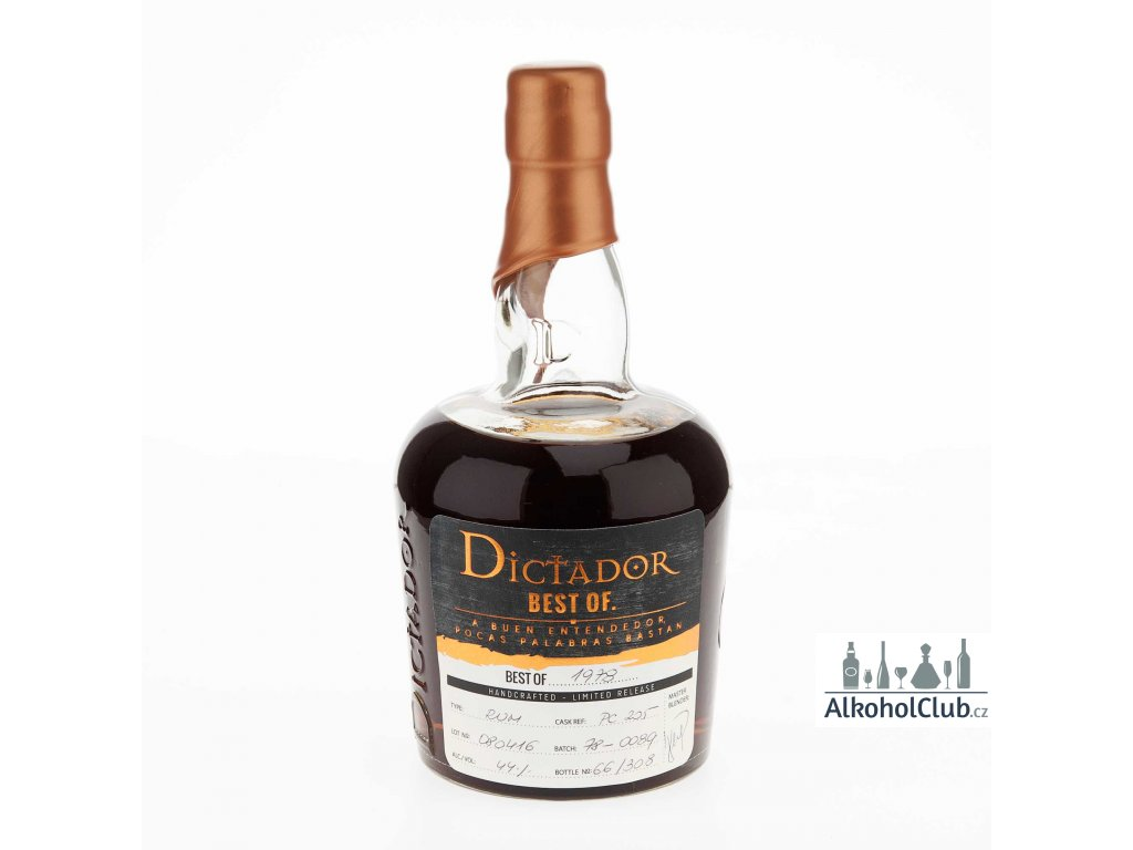 Dictador Rum limited release best of 1978