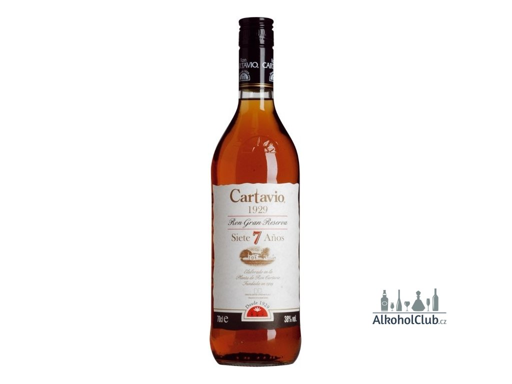 karibský rum Cartavio 1929 Gran Reserva 38%