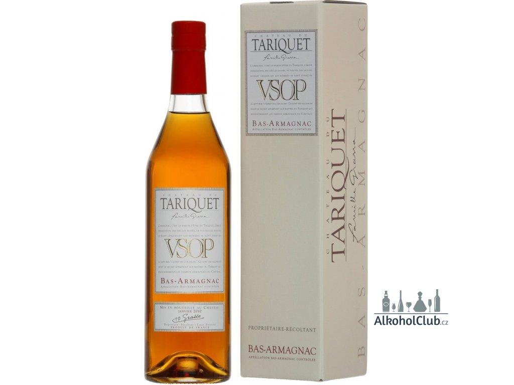 poměr cena výkon nejlepší Armagnac Chateau du Tariquet VSOP 40%