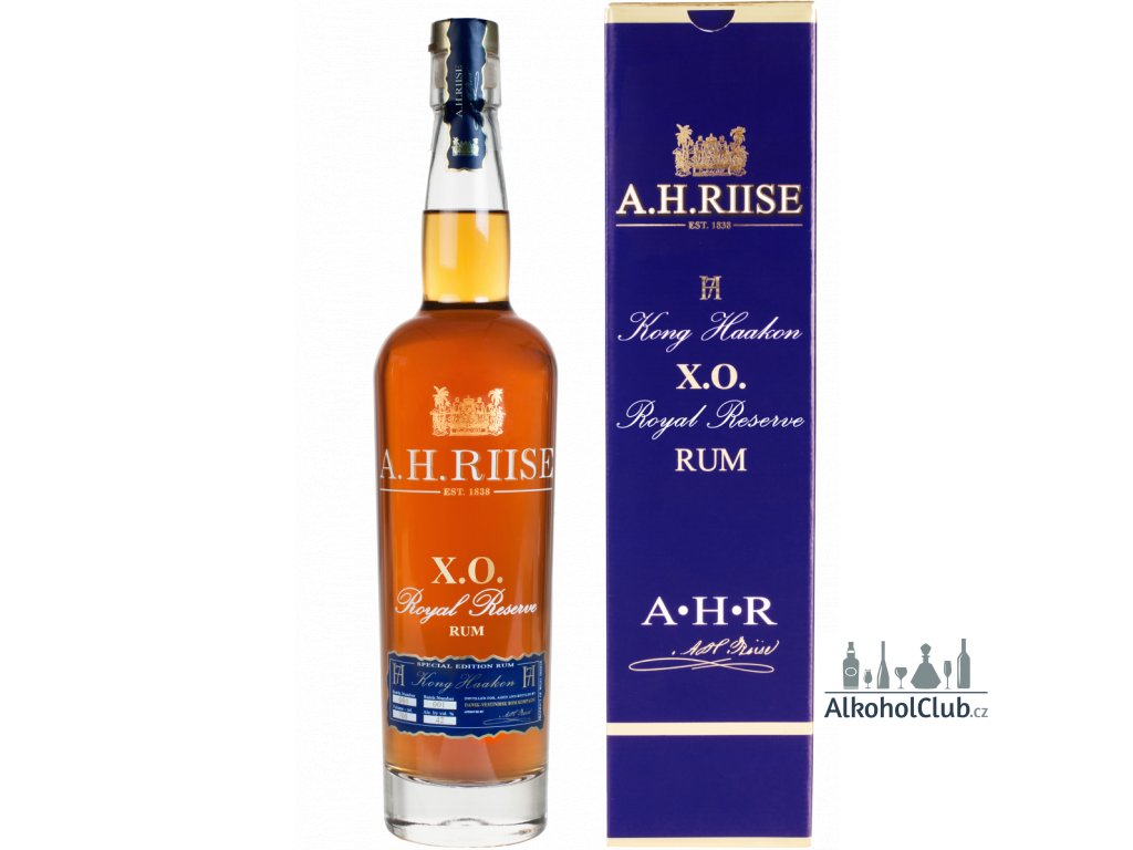 A.H. Riise X.O. Royal Reserve Rum KING HAAKON