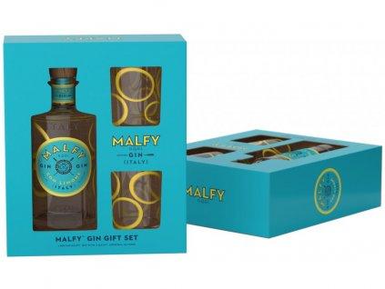 Malfy gin + 2 skleničky 070 41%