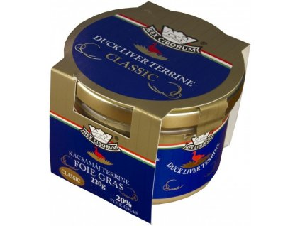 Kachní terrina s 20% Foie Gras Classic RC