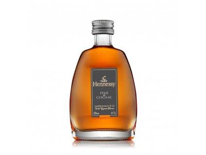 hennessy fine de cognac miniature 5cl 40 abv temp