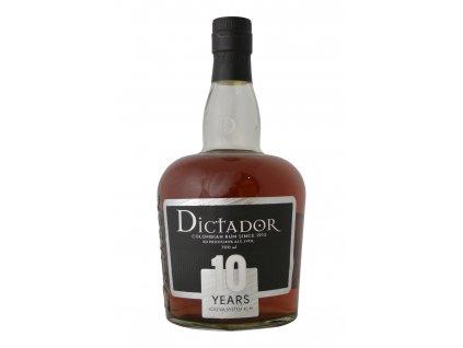 rum dictador 10Y