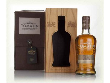 tomatin 27 year old 1988 batch 3 whisky
