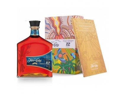 rum flor de cana 12 years old centenario legacy edition