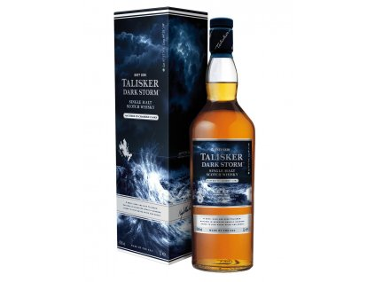 Whisky Talisker - temná bouře