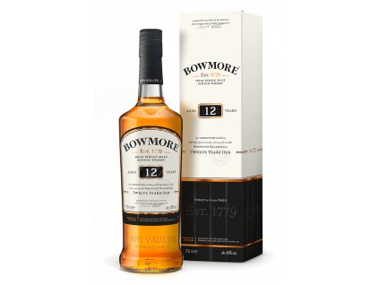 bowmore bottlebox CORE 12YO 1487927820