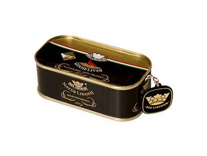 Foie gras s lanýžem