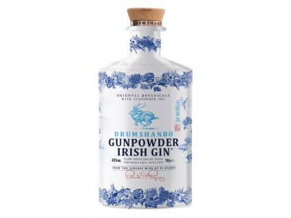 drumshanbo gunpowder ceramic irish gin 43 0 7l1