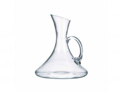 sklenena karafa na vino s uchem crystalex 1250 ml