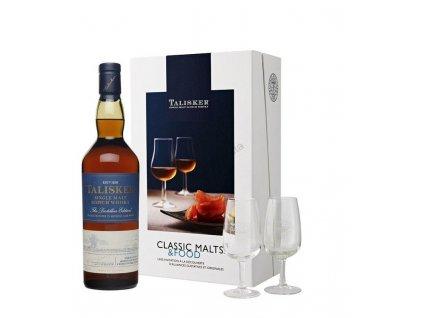 Talisker classic malts & food