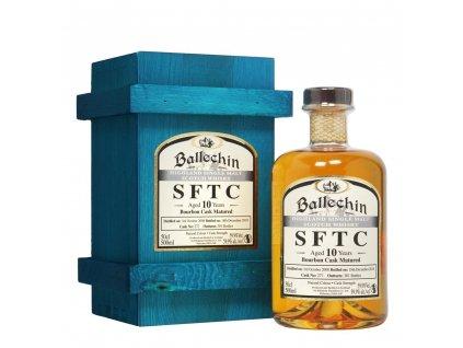 Ballechin 10 Bourbon cask