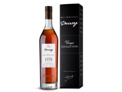 Armaňak Armagnac Darroze 1978 48,3%