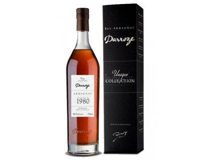 Armaňak Armagnac Darroze 1980 48,3%