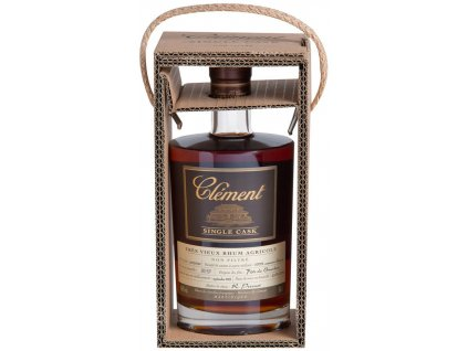 clement single cask canne bleue