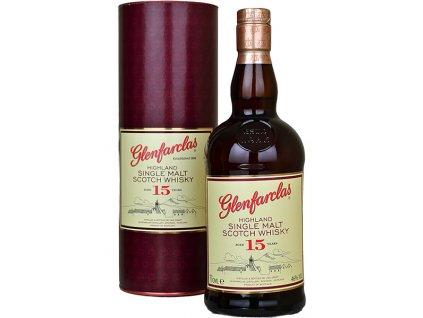 glenfarclas 15yo single malt whisky