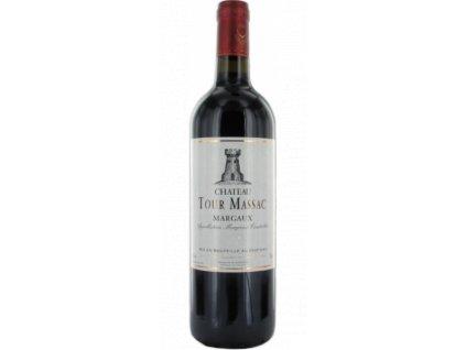 22193 250x600 bouteille chateau tour massac rouge margaux