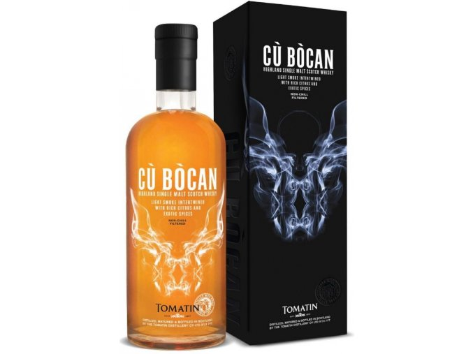 CÙ BÒCAN Tomatin nakouřená whisky novinka