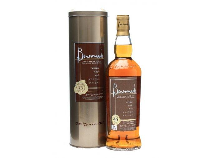 Benromach 30y 43% 30 letá whisky