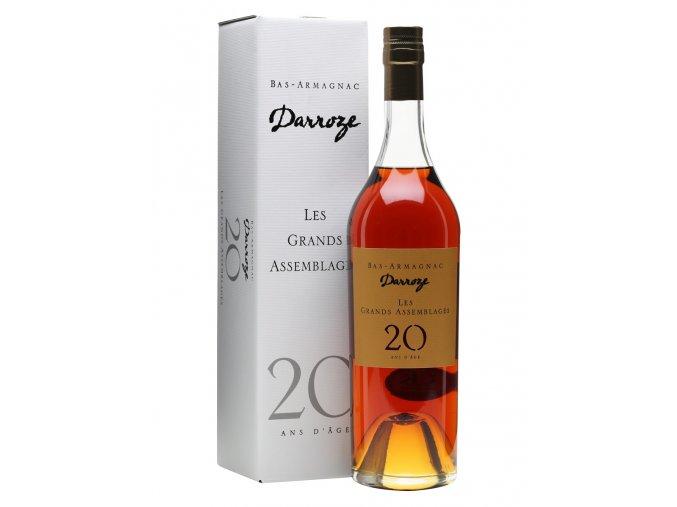armaňak Armagnac Darroze 20Y 43%