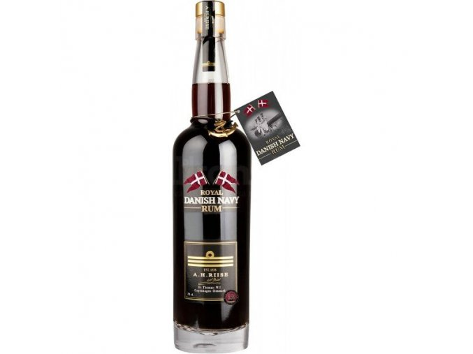 A.H.Riise Royal Danish Navy Rum Strength 55%