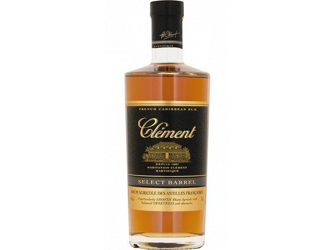 Clément Select Barrel 40% rum