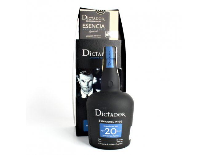 Dictador 20y + Esencia coffee 250g 20y 0,7l 40% GB