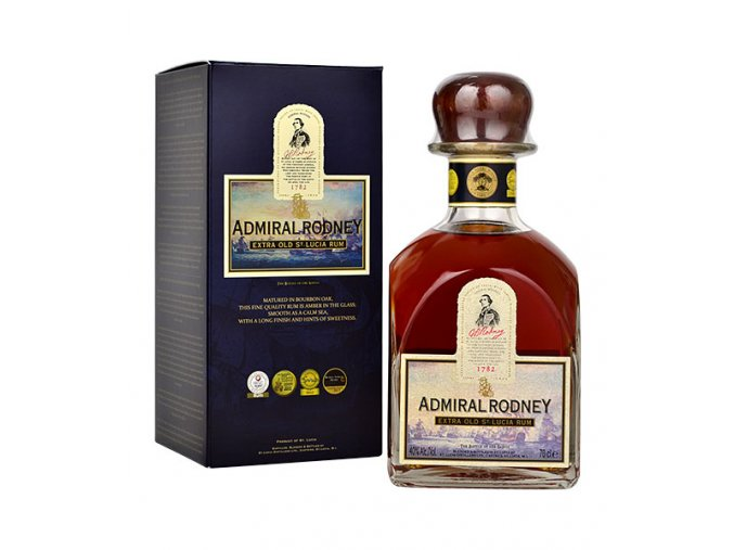 admiral rodney extra old rum